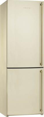 Холодильник с морозильником Smeg FA860PS - вид спереди