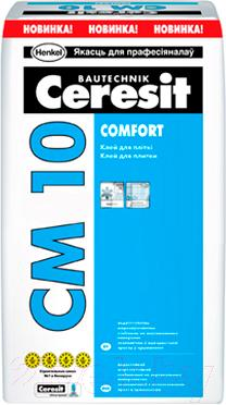 Клей для плитки Ceresit CM 10 Comfort (25кг)