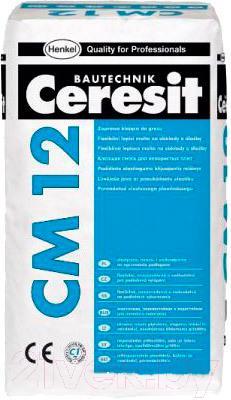 Клей для плитки Ceresit CM 12 Gres (25кг)
