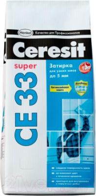 Фуга Ceresit CE 33 (2кг, серый)