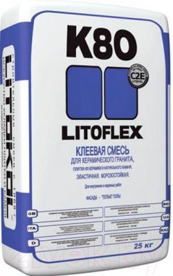 Клей для плитки Litokol Litoflex K80 (25кг)