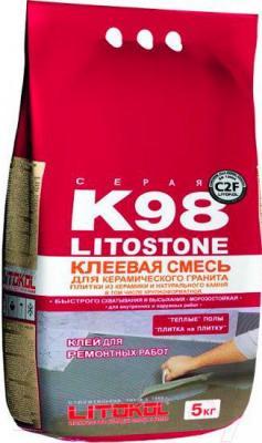 Клей для плитки Litokol Litostone K98 (5кг)