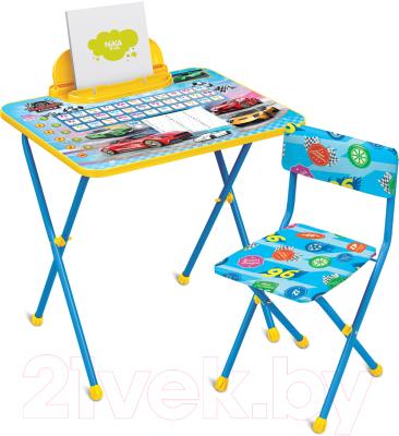 Комплект мебели с детским столом Ника КП2/15 Большие гонки
