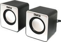 Мультимедиа акустика Dialog Colibri AC-02UP (черный/белый) -