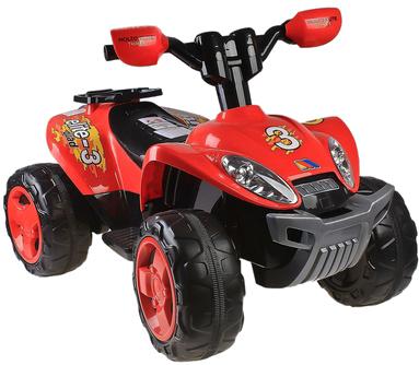 Детский квадроцикл Полесье Molto Elite 3 / 35905 (красный) - общий вид