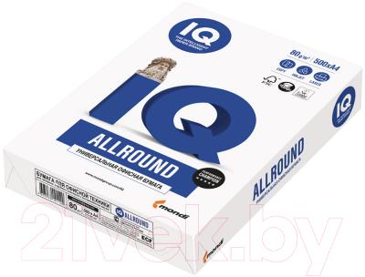 Бумага IQ Allround 80г/м2, А4, 500л