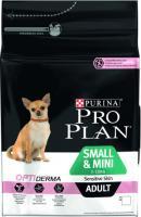 Корм для собак Pro Plan Adult OptiDerma Small & Mini с лососем и рисом (3кг) -