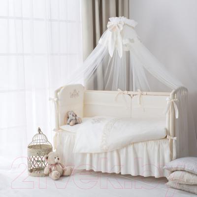 Комплект постельный в кроватку Perina Версаль / ВС6-01.2 - Фото в интерьере