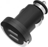 Зарядное устройство автомобильное Deppa Ultra 11204 (черный) -