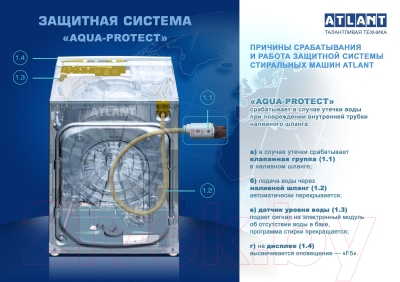 Стиральная машина ATLANT СМА 70У1010-00