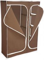 Тканевый шкаф Sheffilton 2016 (темно-коричневый) -