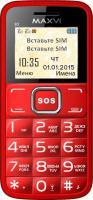 Мобильный телефон Maxvi B2 (красный) -