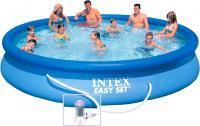 Надувной бассейн Intex Easy Set / 28158NP (457x84) -