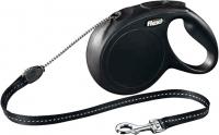 Поводок-рулетка Flexi New Classic 11811 (М, черный) -