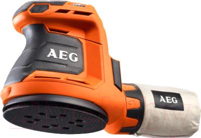 Профессиональная эксцентриковая шлифмашина AEG Powertools BEX18-125-0 (4935451086)