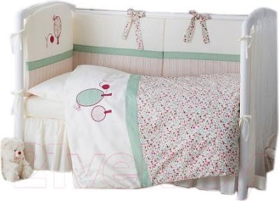 Комплект постельный в кроватку Perina Клюковка / КЛ6-01.3