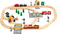 Железная дорога игрушечная Brio Lift & load Railway Set 33165 -