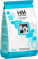 Корм для собак Наша Марка С лососем и рисом НМ047 (15 кг) -