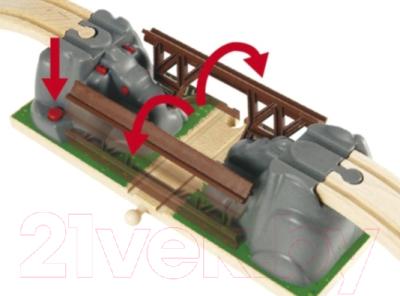 Элемент железной дороги Brio Падающий мост 33391