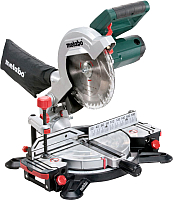 Профессиональная торцовочная пила Metabo KS 216 M Lasercut (619216000) -