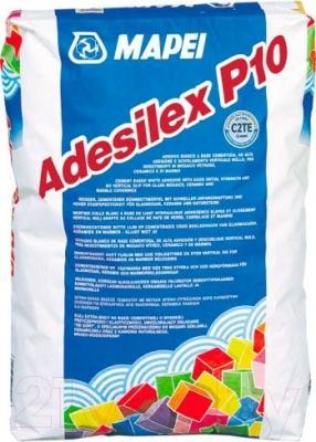 Клей для плитки Mapei Adesilex P10 (25кг, белый)