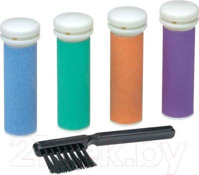 Электропилка для ног AEG PHE 5642 (белый/фиолетовый) - насадки