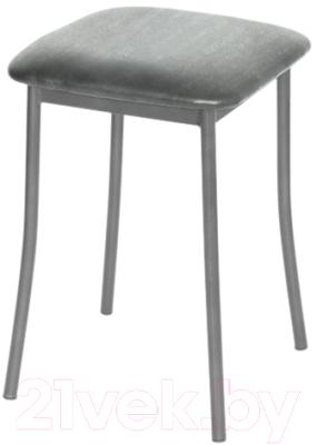 Табурет Древпром Тонкие ноги (металлик/бенгал серый)