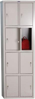 Шкаф металлический Практик LS(LE)-24