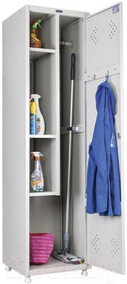 Шкаф металлический Практик LS-11-50