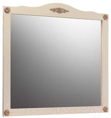 Зеркало Belux Верди В105 (слоновая кость/патина золото)