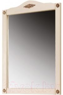 Зеркало Belux Верди В85 (слоновая кость/патина золото)