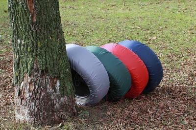 Чехол для колес ТрендБай Коверин 220 (серый)