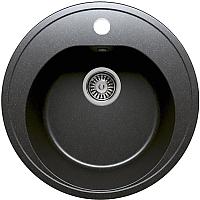 Мойка кухонная Polygran F-08 (черный) -