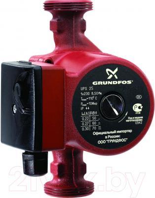Циркуляционный насос Grundfos UPS 25-70 180 насос grundfos ups 25 80 180 95906440
