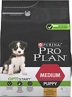 Корм для собак Pro Plan Puppy Medium Optistart с курицей (12кг) -