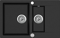 Мойка кухонная Teka Clivo 60 B-TQ / 40148020 (оникс) -