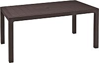 Стол пластиковый Keter Melody / 230667 (коричневый) -