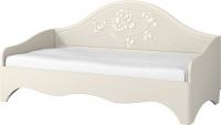 Односпальная кровать Мебель-Неман Астория МН-218-12 (кремовый) -