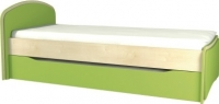 Двухъярусная кровать Мебель-Неман Комби МН-211-09 (береза/лайм) -
