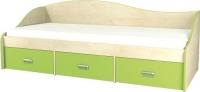 Односпальная кровать Мебель-Неман Комби МН-211-02 (береза/лайм) -