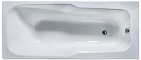 Ванна чугунная Универсал Эврика-У 170x75 (1 сорт, с ножками) -