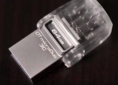 Usb flash накопитель Kingston DataTraveler microDuo 3C 64GB (DTDUO3C/64GB)