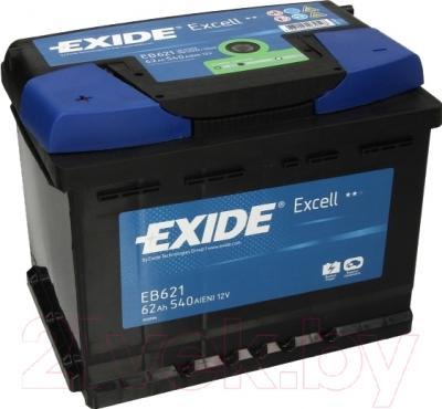 Автомобильный аккумулятор Exide Excell EB621