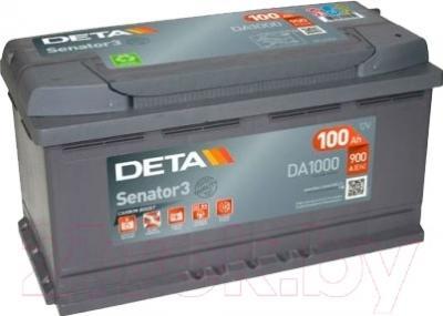 Автомобильный аккумулятор Deta Senator DA1000