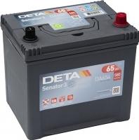 Автомобильный аккумулятор Deta Senator3 DA654 (65 А/ч) -