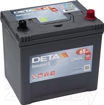 Автомобильный аккумулятор Deta Senator3 DA654