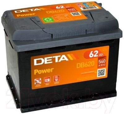 Автомобильный аккумулятор Deta Power DB620