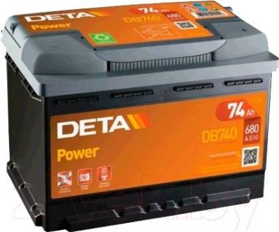 Автомобильный аккумулятор Deta Power DB740