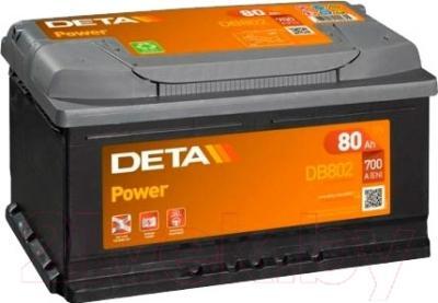 Автомобильный аккумулятор Deta Power DB802
