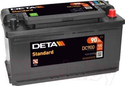 Автомобильный аккумулятор Deta Standard DC900